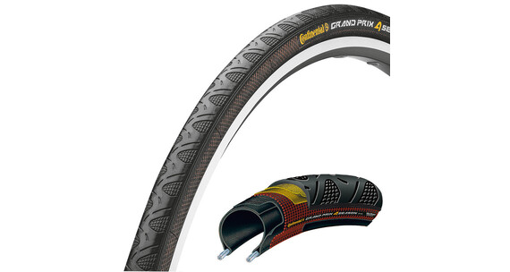 Continental Grand Prix 4-Seasons 28 inch vouwbaar, zwart